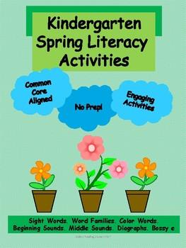 Spring Literacy Activities - NO PREP!
