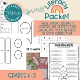 Spring Literacy Packet