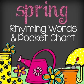 Spring Literacy - Rhyming Words