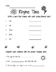Spring Literacy, Science & Math Packet (1st Grade)