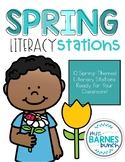 Spring Literacy Stations