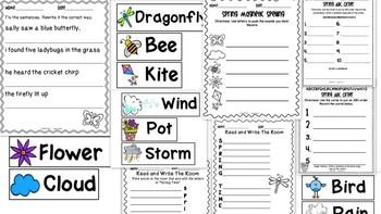 Spring Literacy Stations K-1