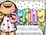 Spring Literacy Stations Third Grade