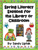 Spring Literacy Stations for the Library or the Classroom