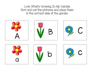 Spring Literacy Working Mats