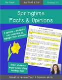 Spring Literacy Worksheet
