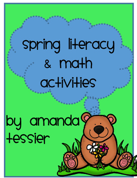 Spring Literacy and Math Activities