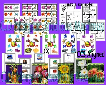 Spring - Literacy and Math Interactive Activities