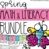 Spring Literacy and Math Bundle for Kindergarten