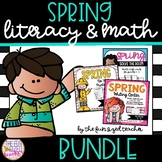 Spring Literacy and Math Bundle
