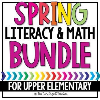 Spring Literacy and Math Bundle