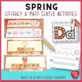Literacy and Math Center Activities for Spring