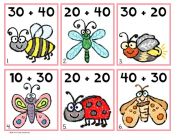 Spring Literacy and Math Centers Bundle