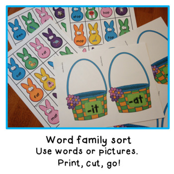 Spring Literacy centers/Journeys sight words