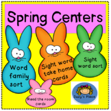 Spring Literacy centers/ sight words