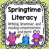 Spring Literacy: reading comprehension, writing and more!