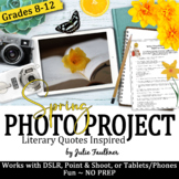 Yearbook Project, Spring Literary-Inspired Digital Media, Earth Day, Photography