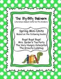 Spring Literature-based Units:  The Grouchy Ladybug, Bugs! Bugs!...