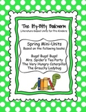 Spring Literature-based Units:  The Grouchy Ladybug, Bugs!