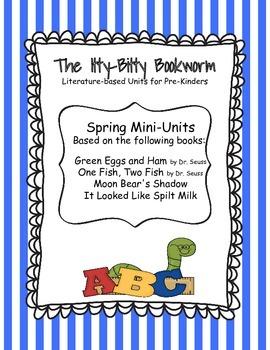 Spring Literature-based Units: Looks Like Spilt Milk and M