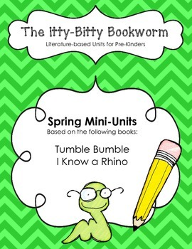 Literature-based Units:  Tumble Bumble and I Know a Rhino