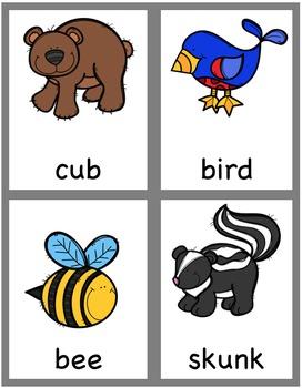 Kindergarten Writing Center - Spring Little Books for Little Readers and Writers
