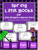 Kindergarten Writing Center - Spring Little Books for Little Readers and Writers