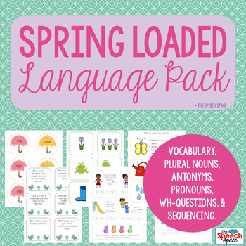 Spring Loaded Language Pack - Common Core Aligned