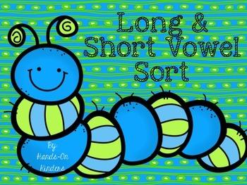 Spring Long & Short Vowel Sort