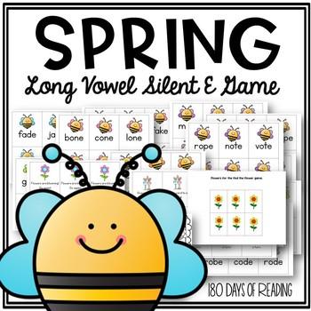 Spring Long Vowel Activities