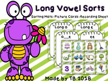 Spring Long Vowel Sorts