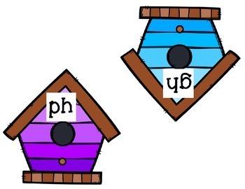 "Spring,  ""f"" sound (ph, ff, gh) word sort"