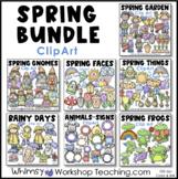Springtime Bundle Clip Art - 3 Pack