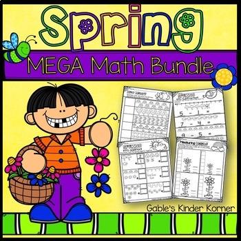 Spring MEGA Math Bundle! *Print-N-Go!*