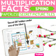 Spring MULTIPLICATION FACTS Paperless + Printable Secret Picture SET