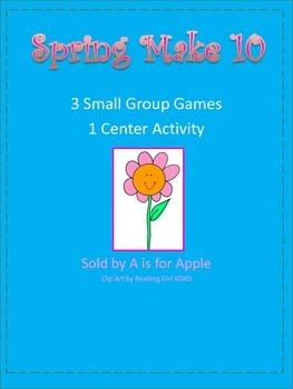 Spring Make 10 Games