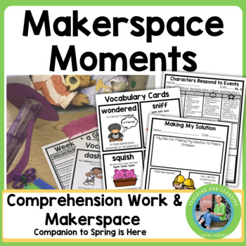 Spring MakerSpace Activities in Literature