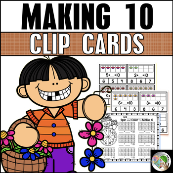 Making 10 Clip Cards - Spring