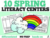 Spring Literacy Centers: 10 Making Words Activities