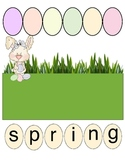 Spring Making Words Activity
