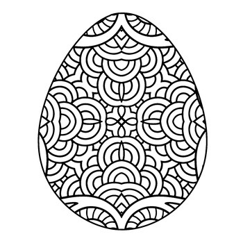 Spring Mandala and Zentangle Theme Coloring Book