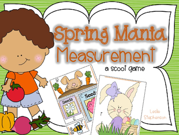 Spring Mania Measurement - A Scoot Game