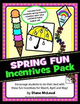 Spring (March, April, May) Incentives Pattern Pack