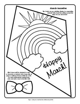 Spring Fun (March, April, May) Incentives Pattern Pack - plus FREE Bonus