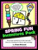 Spring Fun (March, April, May) Incentives Pattern Pack - p