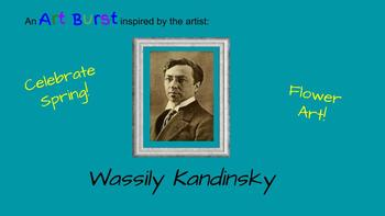 Spring, March, Art History, Kandinsky, Critical Thinking, Project