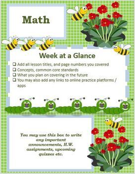Spring March Editable Classroom Weekly or Monthly Newsletter Template