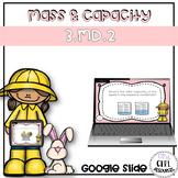 Spring Mass and Capacity Task Cards - Google Classroom (Di