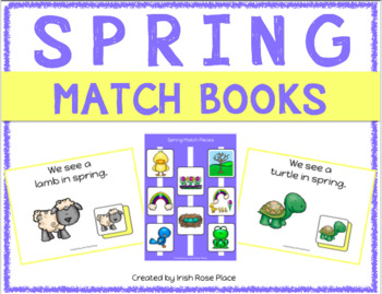 Spring Match Book (Adapted Book)