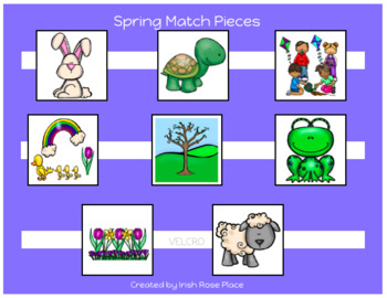 Spring Match Cards